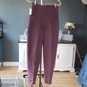 Vintage lady footlocker purple jeans